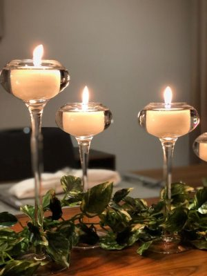 tea light holders for hire