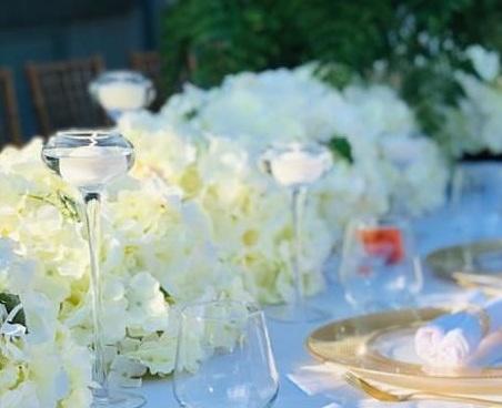 Bridal Table Flowers